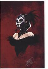 LADY MECHANIKA DIA DE LAS MUERTAS ART PRINT SIGNED BY JOE BENITEZ