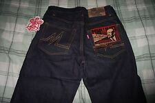 MISHKA RAW INDIGO SELVEDGE DENIM JEANS SZ 32 supreme palace