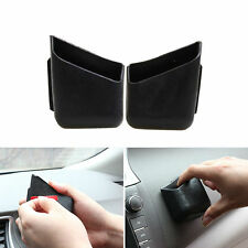 2pcs Universal Car Auto Pen Card Phone Organizer Storage Bag Box Holder Pocket