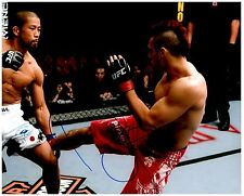 DAN HARDY Signed Autographed UFC MMA 8X10 PIC. F