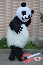 Panda Bear Mascot Costume Cosplay Party fancy Xmas Birthday Dress Outfit Adult