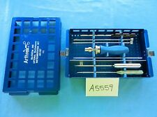Arthrex Arthroscopic Arthroscopy Bio-FASTak Instrument Set AR-1327 COMPLETE!