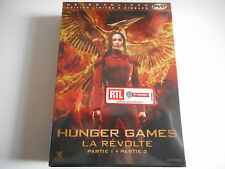 HUNGER GAMES / LA REVOLTE 1 & 2 PARTIES NEUF - EDITION LIMITEE 2 DISQUES