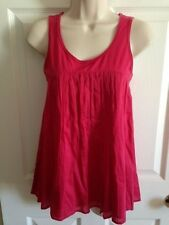 Women's THEORY Pink Sleeveless Top, Size P Petite