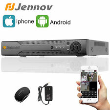 Jennov 8CH CCTV FULL D1 Realtime Security DVR for Home System 960H HDMI network