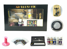 USA Air brush Nail System Kit For Air Compressor Nails Tattoo Tanning Machine