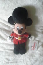 "DISNEY Mickey Mouse Palace Guard DISNEY STORE UK BEANIE 10"" Birthday Gift"