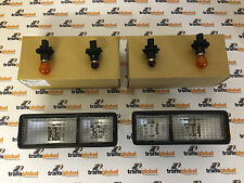 Land Rover Discovery 300tdi Rear Bumper Clear Lamps & Orange Bulbs x2 - Bearmach