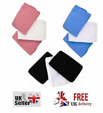 Microfiber Face Cloths Pink black blue Super Soft Quick Absorbent Travel Makeup