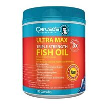 Caruso's Natural Health UltraMAX Triple Strength Fish Oil Concentrate 150 Caps