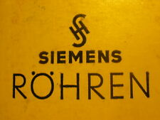 EF41  SIEMENS Old Unused TUBE RADIO RÖHREN NEU OVP NIB NOS