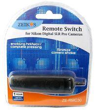 Remote Cord for Nikon SLR D200 D300 D300s D700 N90/S F5 F6 F90 F90X F100