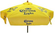 CORONA LIGHT 7 foot BEER UMBRELLA MARKET PATIO STYLE NEW HUGE CORONA EXTRA