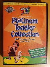 NEW Cedarmont Platinum Toddler Collection 64 Classic Songs For Kids 3 DVD Set