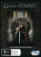 Game Of Thrones The Complete First Season 1 BRAND NEW SEALED R4 DVD