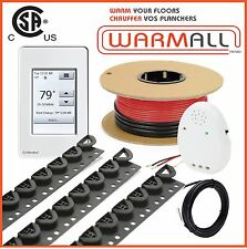 240V 120 Sq/Ft - Premium Electrical Radiant Warming Floor Heating Cable Kit