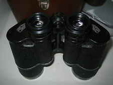 CARL ZEISS JENA 10 X 50 W BINOCULARS AND CASE