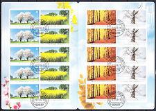 BRD 2006 MH 65 , Mi. Nr. 2574-2577 Gestempelt !!! (G367)