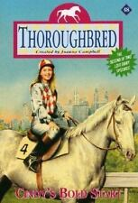 Thoroughbred: Cindy's Bold Start No. 48 by Joanna Campbell (2001, Book, Other)