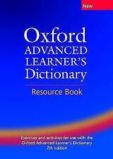 Oxford Advanced Learner's Dictionary: Teacher's Resource Book by Albert...