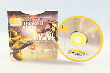 PC Accelerator Quake III Arena vs. Unreal Tournament Computer Demo Game Disc 18