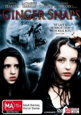 Ginger Snaps (DVD, 2008) New DVD Region 4 Sealed