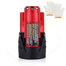 New Milwaukee 48-11-2401 M12 12V 12 Volt Red Lithium-Ion Battery Pack 2500mAh