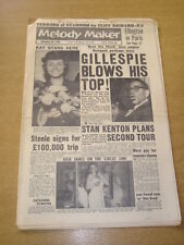 MELODY MAKER 1959 SEPTEMBER 26 DIZZY GILLESPIE CLIFF RICHARD STARR STEELE   +