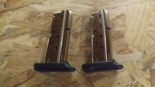 2 - NEW 7rd extended STS magazines mags (9mm) for Detonics Combat Master (D115*)
