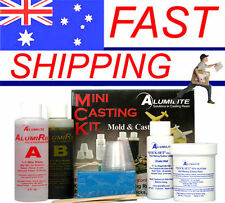 Alumilite Mini Casting Kit - Silicone Rubber and Casting Resin Solution