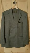 Austin reed of regent street mens double breasted suit. 42/44R, 36w/30l