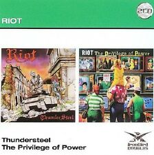 RIOT - Thunder Steel / The Privilege Of Power  (2-CD)