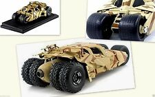Tumbler Batman Mobile The Dark Knight Rises Movie Car Khaki Camo 1:18 Model Auto