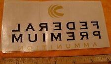 Federal Premium Ammunition  Decal Sticker