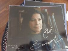 TWILIGHT SAGA in person SIGNED AUTOGRAPH PHOTO Gil Birmingham