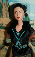 BARBIE PRINCESS OF THE NAVAJO DOLLS OF THE WORLD PINK LABEL EDITION 2004  NIB