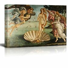 "Birth Of Venus by Botticelli Giclee Canvas Prints Wrapped Wall Art - 16"" x 24"""