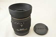 #637 Sigma 50mm F/2.8 DG Macro D For Sony Alpha/Minolta With Hood From Japan