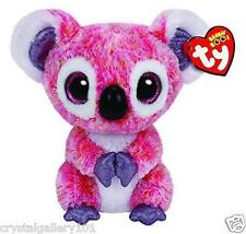 "TY Beanie Babies Boo's Kacey Koala 6"" Stuffed Collectible Plush Toy NEW"