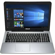 "New Asus X555DA 15.6""HD AMD Quad A10-8700P 3.2GHz 4GB 500GB Radeon R6 DVDRW W10H"