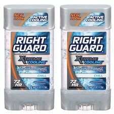 (2 PCS) Right Guard XTreme Cooling Chill Gel Antiperspirant Deodorant 72HR 4oz