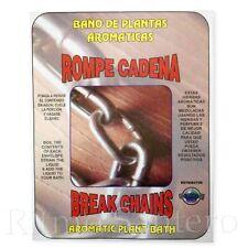 SPIRITUAL PLANT BATH: BREAK CHAINS-ROMPE CADENA Bano Despojo Limpia Santeria ifa