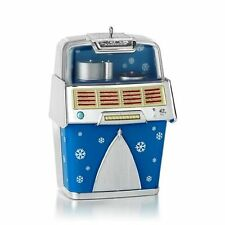 "New 2013 Hallmark ""Jolly Jukebox"" Ornament - Tunes - Music - Christmas Yuletide"