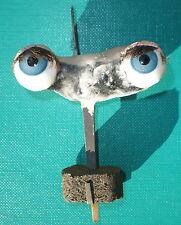 "antique blue sleepy eyes of glass 1.55"""
