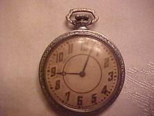 VINTAGE ELGIN POCKET WATCH MADE IN 1892 NOT RUNNING BUT LOOKS GOOD