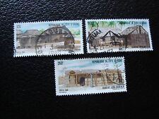 COTE D IVOIRE - timbre yvert/tellier n° 771 772 773 obl (A27) stamp (Y)