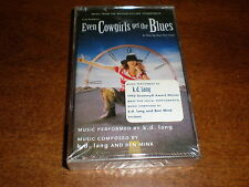 Even Cowgirls Get The Blues CASSETTE K D Lang soundtrack NEW