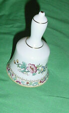 COALPORT MING ROSE BONE CHINA DINNER BELL MADE IN ENGLAND