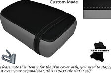 GREY & BLACK CUSTOM FITS KINROAD XT 125 16 REAR LEATHER SEAT COVER ONLY