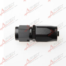 AN-4 AN4 4AN STRAIGHT SWIVEL OIL FUEL GAS LINE HOSE END FITTING ADAPTOR BLACK